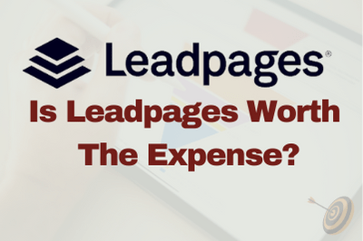 Leadpages as sales funnel builder worth the expense